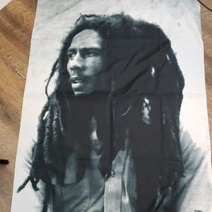 Bob Marley, made in Italy scarf